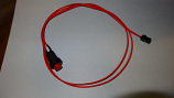 Red On/Off Switch Cable Assembly